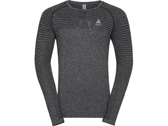 Odlo Seamless Element Crew Neck LS T-Shirt Men grey melange